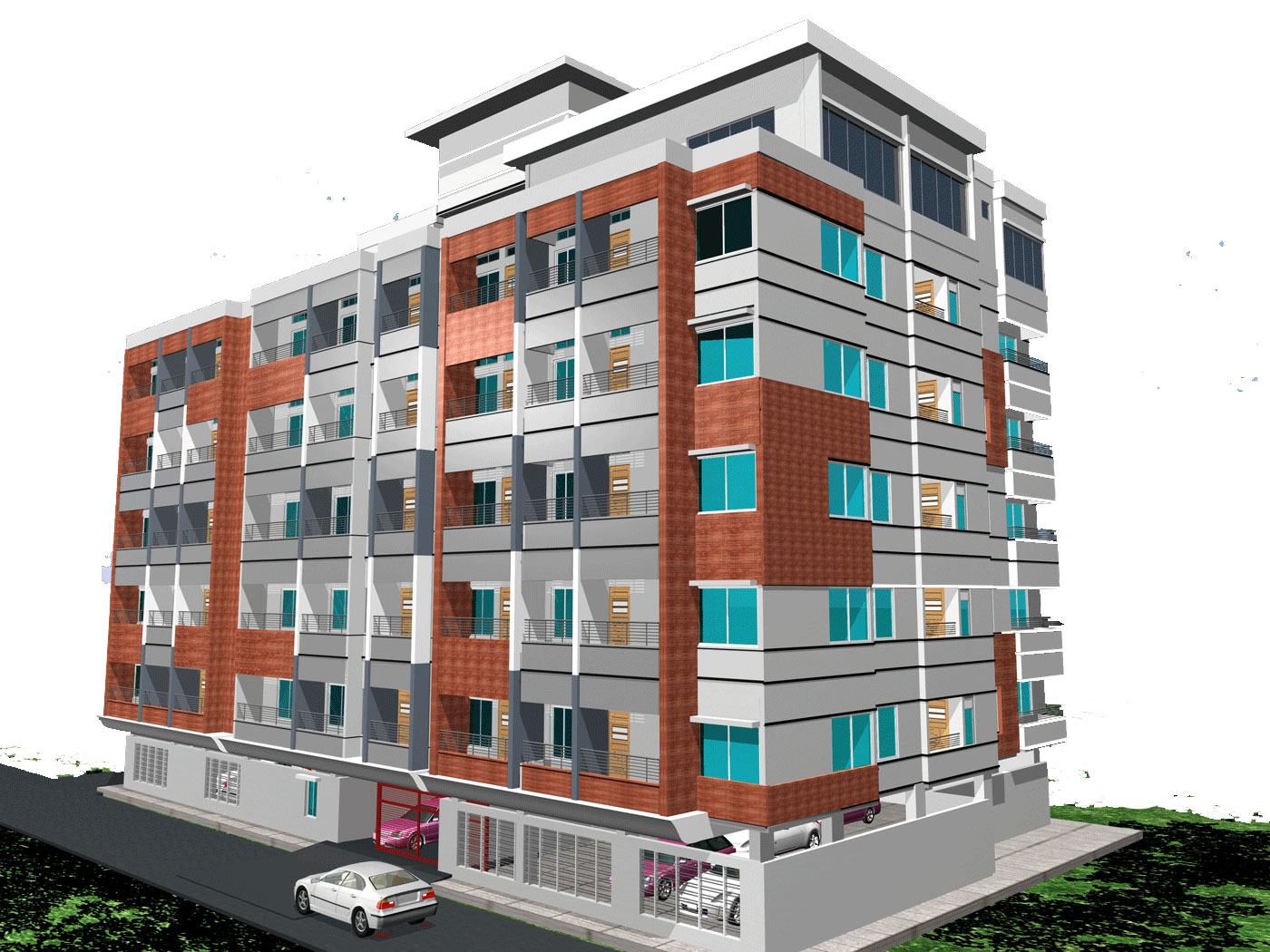 Ready Apartment Foy S Lake Khulshi Chittagong For Modern Residential Building Design